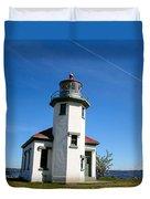Point Robinson Lighthouse Duvet Cover