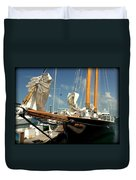 Point To The Stars  Duvet Cover