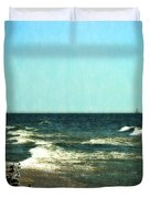 Pointed Into The Wind Duvet Cover