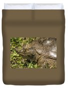 Pointed Nose Florida Softshell Turtle - Apalone Ferox Duvet Cover