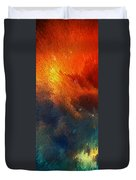 Points Of Light Abstract Art By Sharon Cummings Duvet Cover