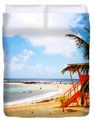 Poipu Beach Kauai Hawaii Duvet Cover