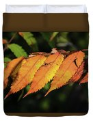 Poison Sumac Golden Kickoff To Fall Colors Duvet Cover