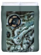 Poisonous Frog Eye Duvet Cover