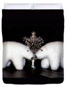 Polar Bears Duvet Cover