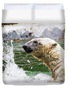 Polar Splash Duvet Cover