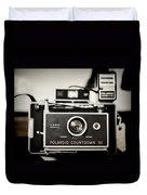 Polaroid Countdown 90 Duvet Cover
