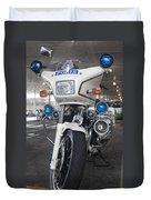 Police Honda Duvet Cover