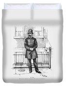 Policeman, C1885 Duvet Cover