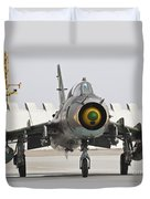 Polish Air Force Su-22 Fitter Duvet Cover