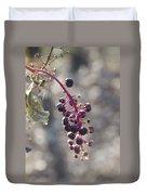 Polk Berries Duvet Cover