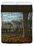 Pollard Willows In Rotterdam Duvet Cover