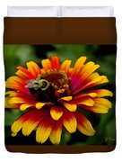 Pollenating Bumblebee Duvet Cover