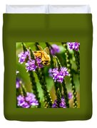 Pollinating Bee Duvet Cover