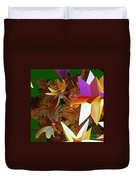Pollination By Jammer Duvet Cover