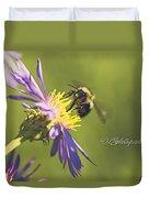 Pollination Duvet Cover