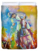 Polo Art Duvet Cover