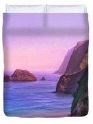 Pololu Valley Sunset Duvet Cover