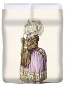 Polonoise, Engraved By Voysard, Plate Duvet Cover