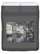 Polpero Cornwall England Duvet Cover