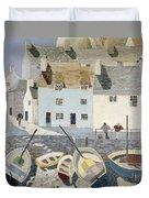 Polperro Duvet Cover by Eric Hains