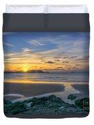 Polzeath Sunset 3 Duvet Cover