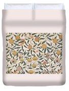Pomegranate Design For Wallpaper Duvet Cover by William Morris