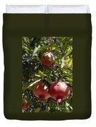 Pomegranate Tree  Duvet Cover