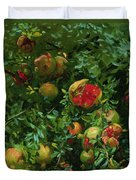 Pomegranates    Majorca Duvet Cover