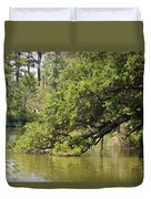 Pond At Norfolk Botanical Garden 10 Duvet Cover
