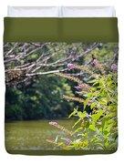 Pond At Norfolk Botanical Garden 12 Duvet Cover