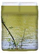 Pond At Norfolk Botanical Garden 8 Duvet Cover