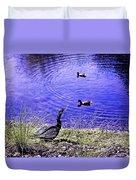 Pond Days Duvet Cover
