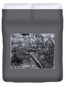Pond Down The Road Duvet Cover