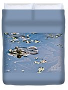 Pond Dweller Duvet Cover