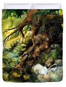 Pond Fairy Duvet Cover