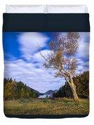 Pond House Views Duvet Cover