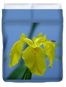 Pond Iris Duvet Cover