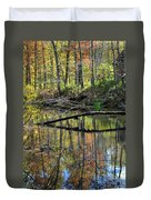 Pond Reflects Duvet Cover