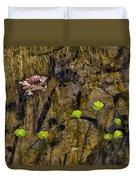 Pond Scene Duvet Cover