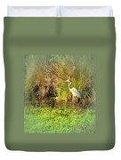 Pond Wildlife Duvet Cover