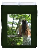 Pondering Duvet Cover