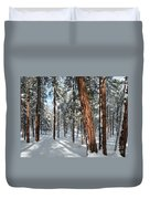 Ponderosa Winter Duvet Cover
