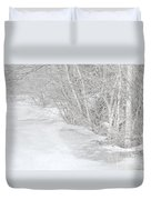 Pondside Thaw Duvet Cover