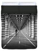 Pont De Bercy Duvet Cover