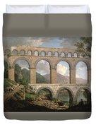 Pont Du Gard, Nimes Duvet Cover