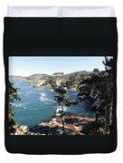 Pont Lobos Cove Duvet Cover
