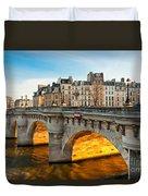 Pont Neu - Paris  Duvet Cover