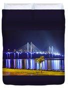 Ponte Estaiada De Aracaju - Construtor Joao Alves Duvet Cover