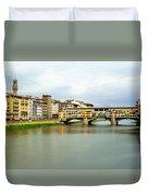 Ponte Vecchio 1 Duvet Cover